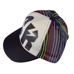 Custom trucker cap hats with offset printing
