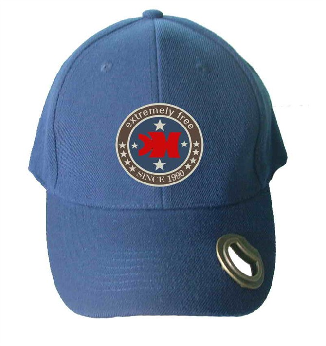 Adjustable baseball caps hats with Bottle opener