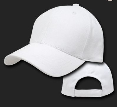blank 6 panel baseball caps hats with velcro strap