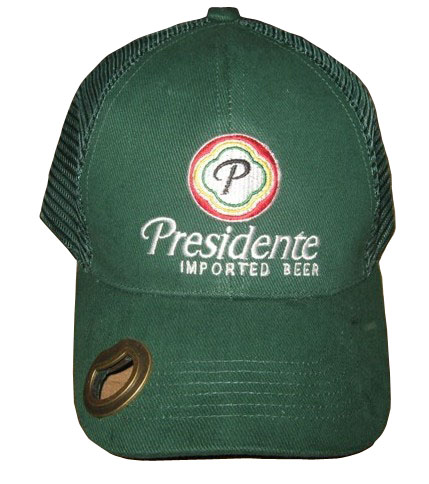 trucker cap with opener