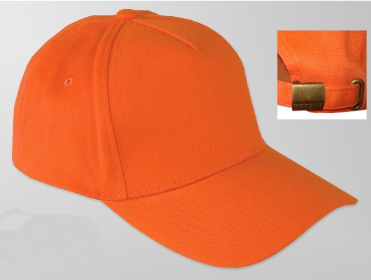 cap with metal closure