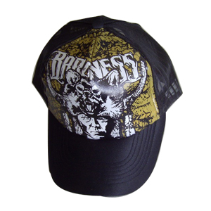 trucker cap with heat transfer printing logo