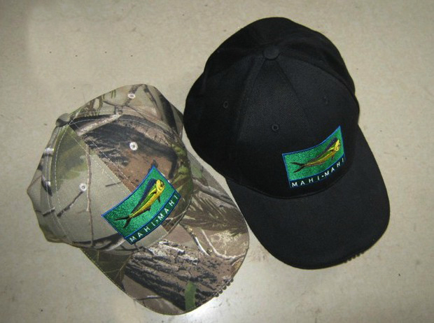 camo cap with embroidery logo