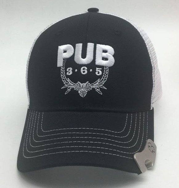 custom trucker cap with custom opener