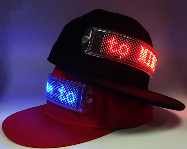 2018 New style Led Advertising hats  caps