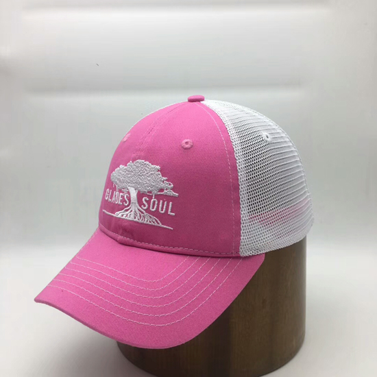 supply custom promotion women trucker hats caps