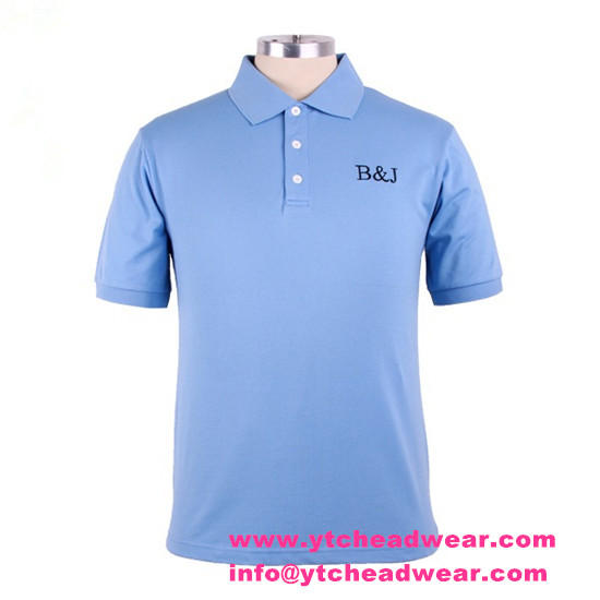 supply 200g custom embroidery POLO shirts  for men