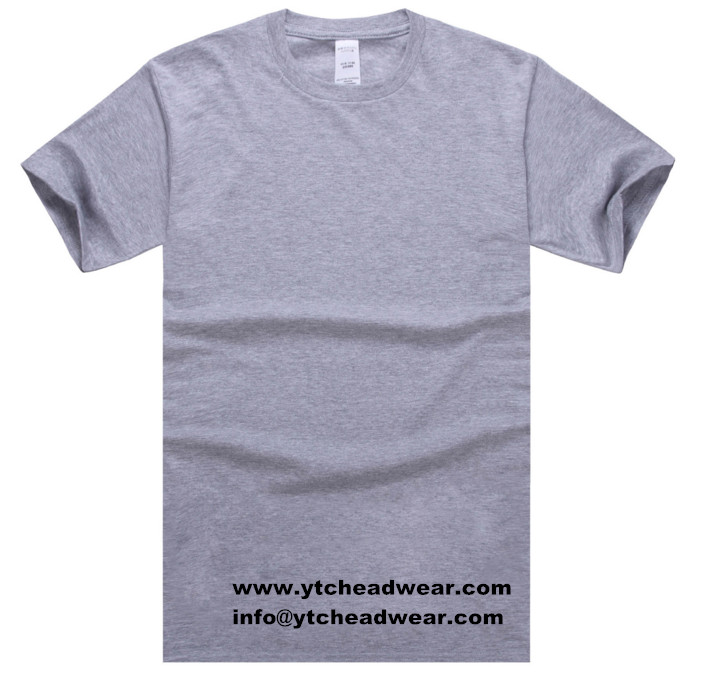 CVC T-SHIRTS FOR MEN IN GRAY COLOR