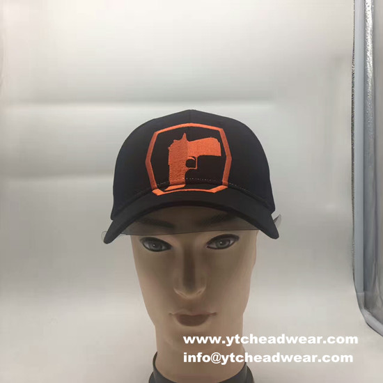 black cotton caps  hats with embroidery design