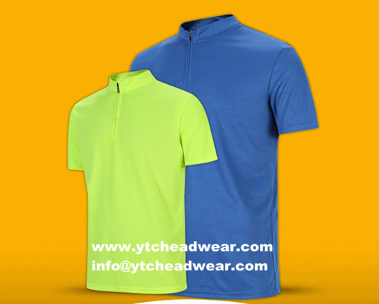POLO shirts with zipper