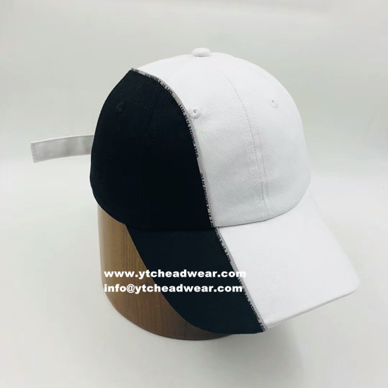 custom cotton brushed baseball caps, hats