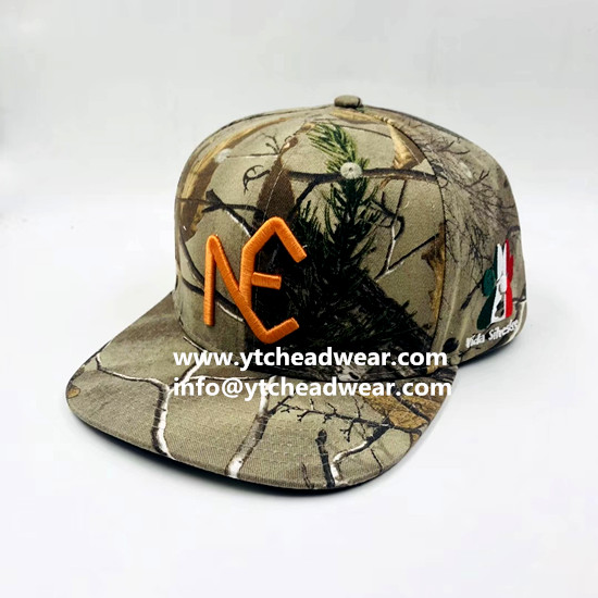 custom embroidery camo outdoor hats caps