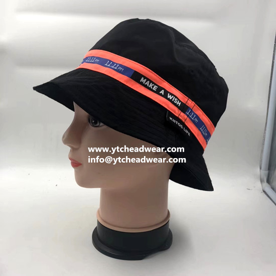 supply custom high quality cotton bucket hats