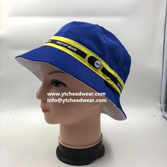 sell custom embroidery bucket hats  for promotion