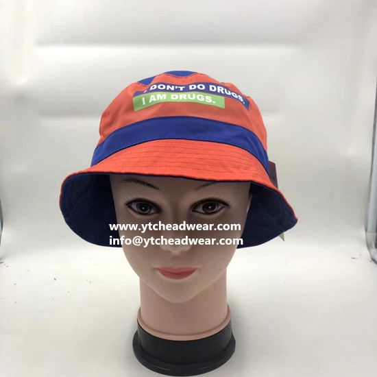supply custom printed bucket hats  for promotion