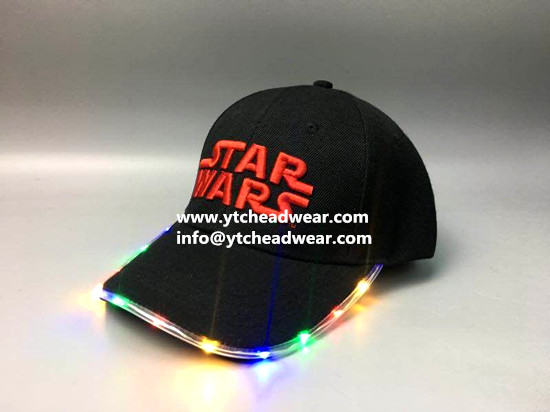 sell special led light hats caps for party