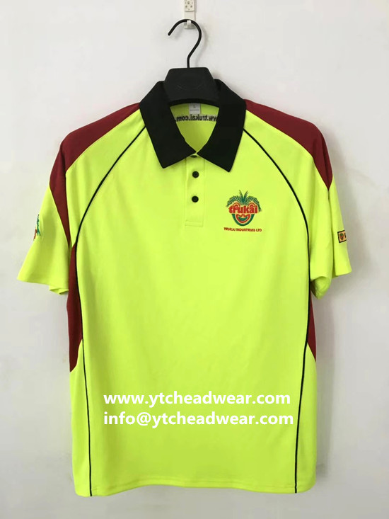 outdoor sport polo shirts for team