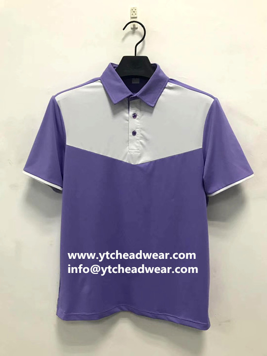Men's polo shirts with short sleeve
