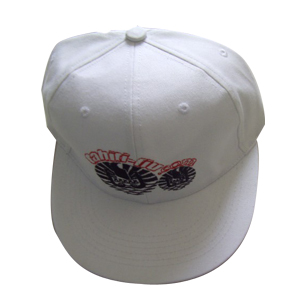 Custom embroidery fitted caps hats with flat brim
